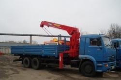Манипулятор 10 тонн на базе КАМАЗ