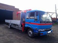 Манипулятор 5 тонн NISSAN Diesel