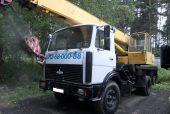 Автокран 16 тонн на базе МАЗа