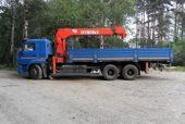 Манипулятор 12,5 тонн на базе 3-осного КАМАЗ 65117
